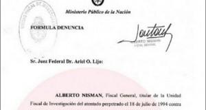 Denuncia de Nisman