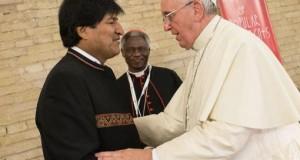 Evo Morales y Papa