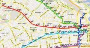 google maps subte